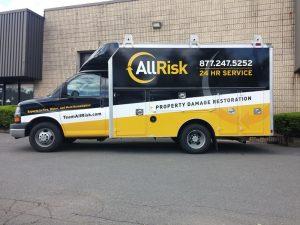 complete commercial van wrap