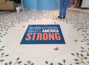 Broomfield Sign Company floor vinyl 300x219